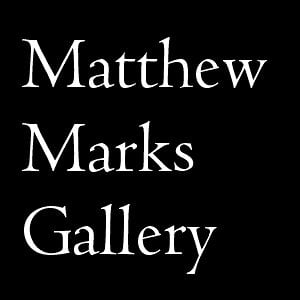 Profile picture for Matthew Marks Gallery