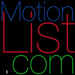 Profile picture for motion list