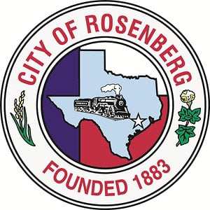 Profile picture for City of Rosenberg, Texas