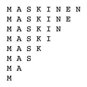 Profile picture for Maskinen