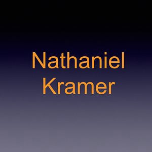 Profile picture for Nathaniel Kramer