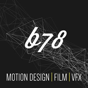 Profile picture for B78 - Motion Design, TV Ad, 3D