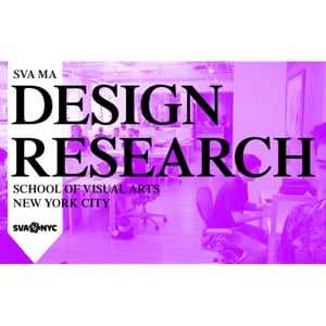 Profile picture for SVA MA Design Research