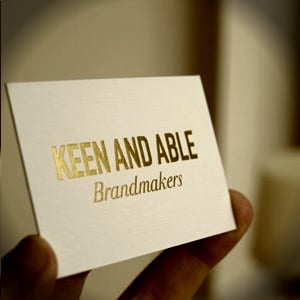 Profile picture for Keen and Able Brandmakers
