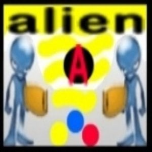 Profile picture for alien