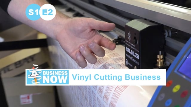 BusinessNow S1E2 - Start a Business with Vinyl Cutters, Different Vinyl Cutters and What They For