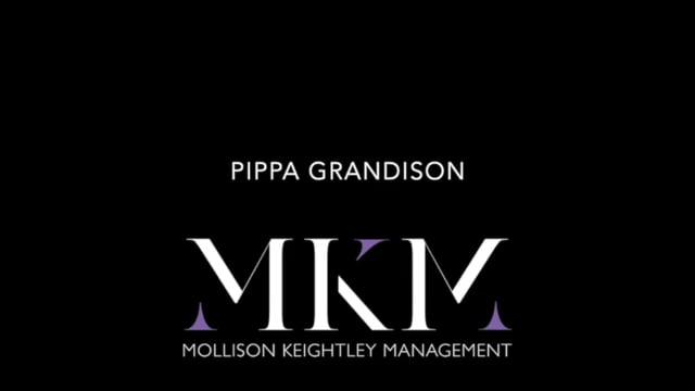 Showreel for Pippa Grandison