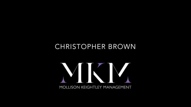 Showreel for Christopher Brown