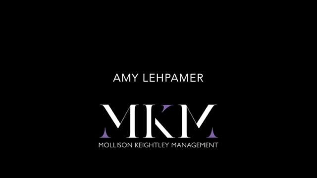 Showreel for Amy Lehpamer