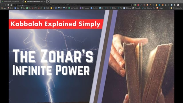 The Zohar's Infinite Power