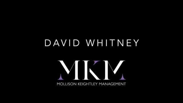 Showreel for David Whitney