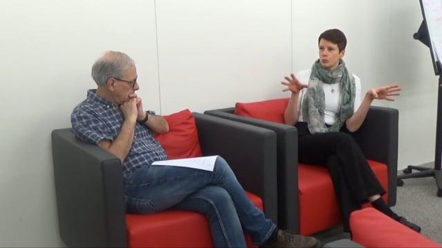 Entretien et discussion avec Mélanie Noesen (ENAD, École nationale pour adultes)