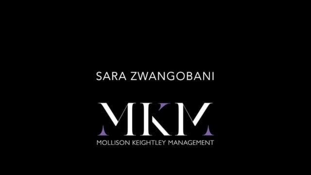 Showreel for Sara Zwangobani