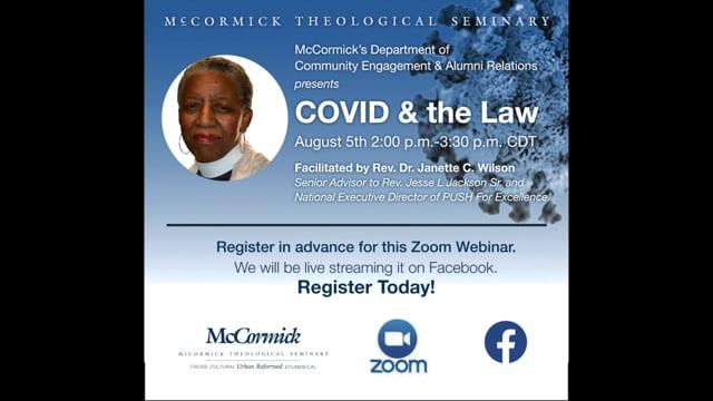 Covid & the Law