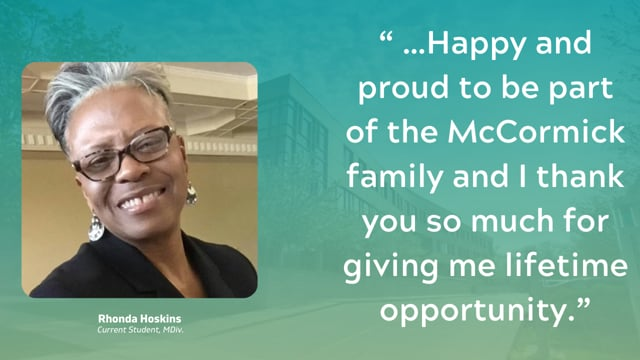 Rhonda Hoskins Says Thank You!