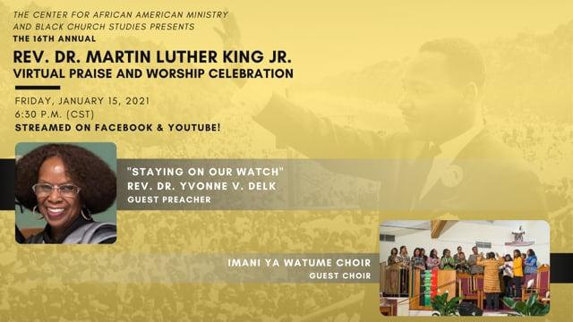 2021 Rev. Dr. Martin Luther King Virtual Praise and Worship Celebration