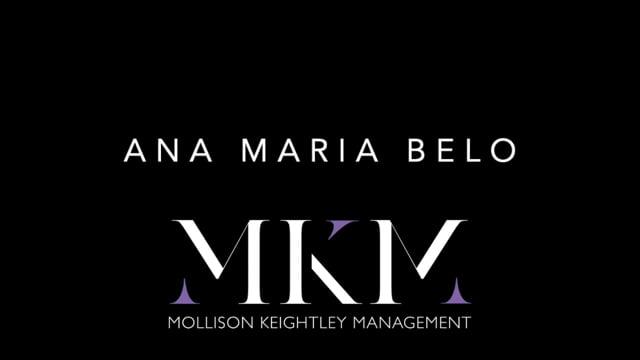 Showreel for Ana Maria Belo