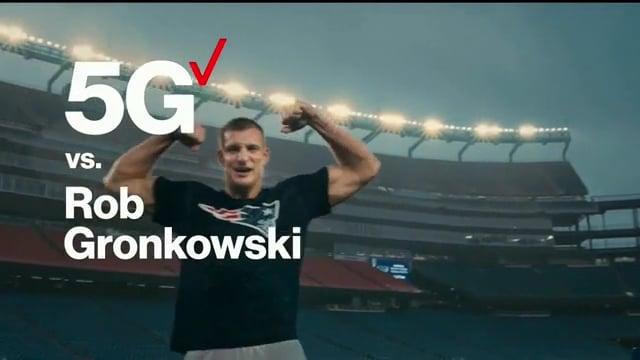 Gronk Verizon Commercial