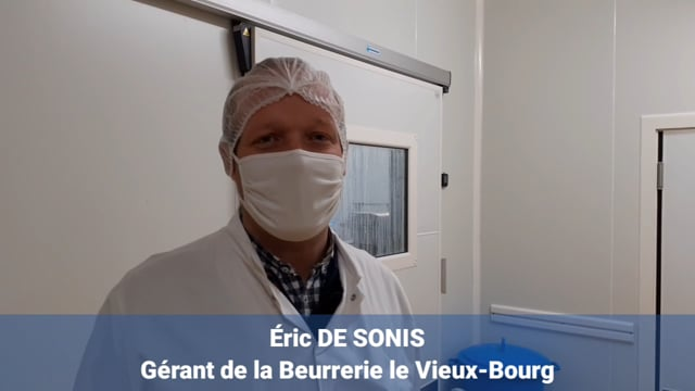 Portrait de Eric De Sonis, Artisan Maître-beurrier