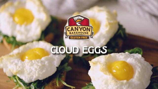 Cloud Eggs on Toast