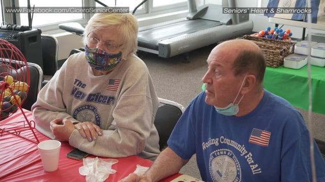 Seniors' Hearts And Shamrocks