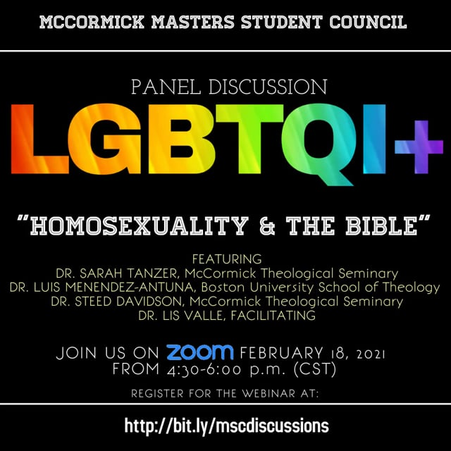 """LGBTQI+: """"Homosexuality the Bible"""""""