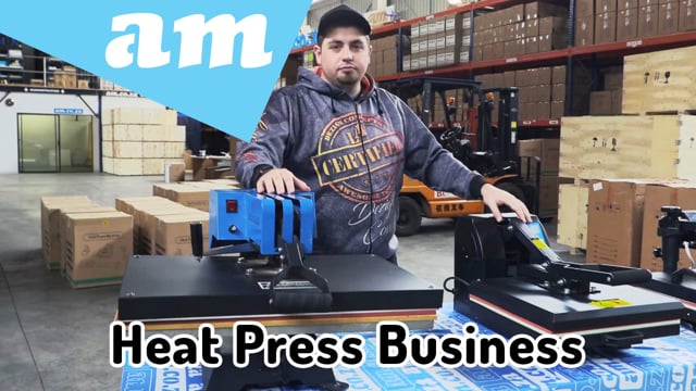 Start a Business with Heat Press Machines, All Kinds of Heat Press & Sublimation Machines Explained