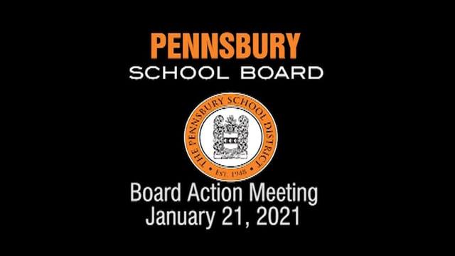 Pennsbury School Board Meeting for January 21, 2021