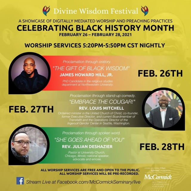 """""""She Goes Ahead of You."""" The Divine Wisdom Festival Celebrates Black History Month!"""