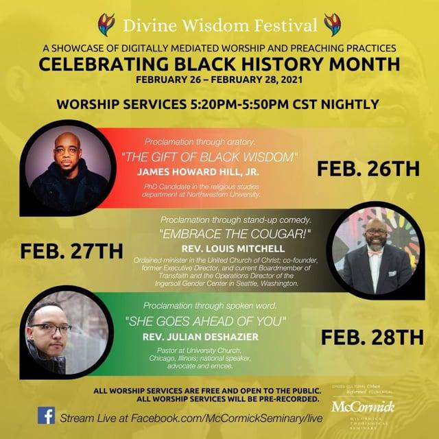 """Embrace the Cougar!"" The Divine Wisdom Festival Celebrates Black History Month!"