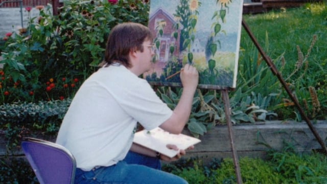 Images of Wiley Painting Outdoors Since 1970