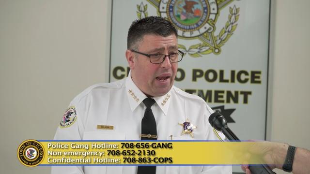 Update On Crime Statistics