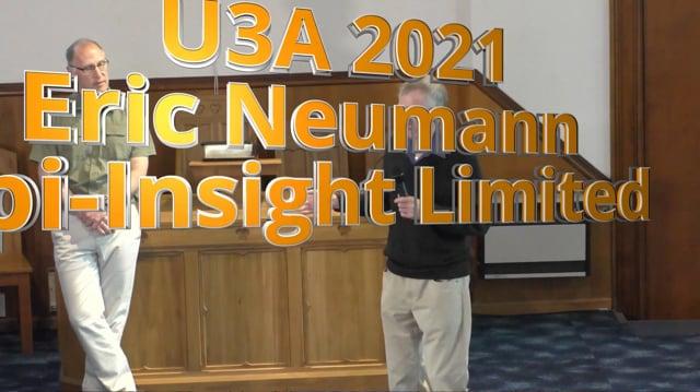 U3A March 2021 Eric Neumann - Epi Insight The NZ Pig Industry
