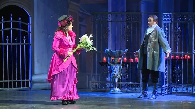 NDM uvedlo premiéru opery Tosca v přímém přenosu