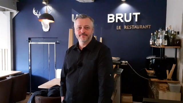 Portrait de Jean-Jacques Monfort, chef du Restaurant BRUT