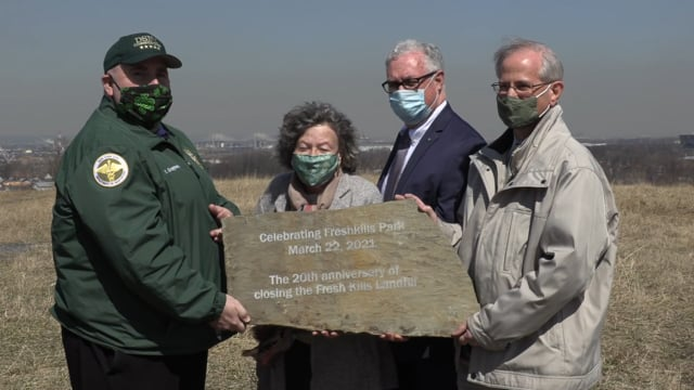Celebrating the 20th Anniversary of the Closing of Fresh Kills - the World's Largest Garbage Dump