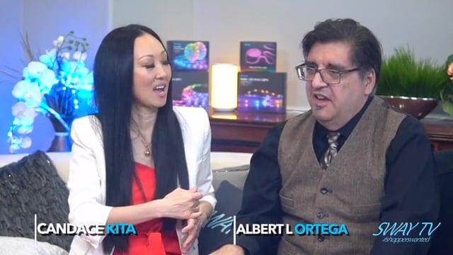 Candace Kita with Albert L Ortega