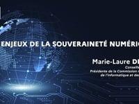"""Marie-Laure DENIS : """"Les enjeux de la souveraineté numérique"""""""