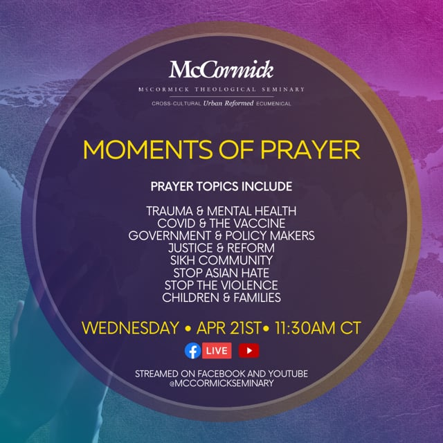Moments of Prayer