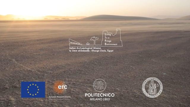 Italian archaeological mission to Umm al-Dabadib - Kharga Oasis, Egypt