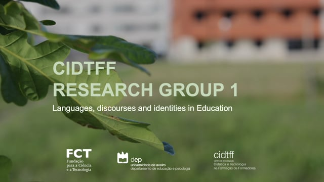 CIDTFF Research Group 1 - Languages, discourses and identities in education