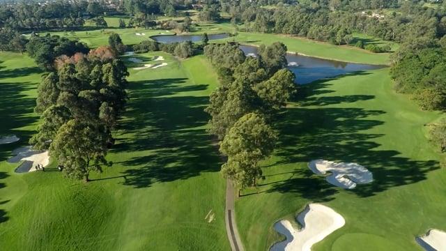 Castle Hill Golf Club Flyover