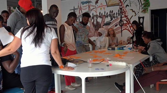 MAIS SUL. Transdisciplinary art project with immigrants living in the outskirts of Lisbon 2017-2018