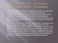 SAP-EWM-ONLINE-TRAINING  SAP Extended
