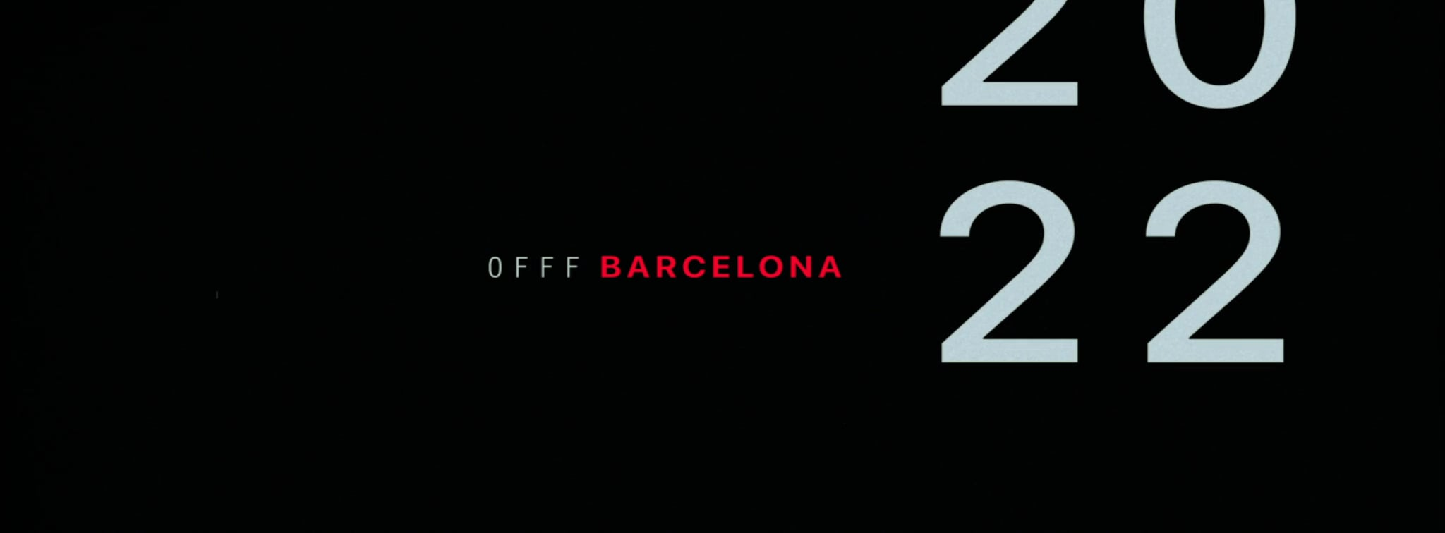 Gmunk and Ben Lukas Boysen for OFFF Barcelona 2022