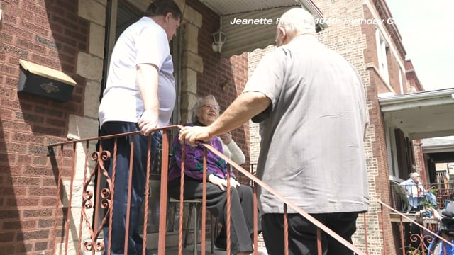 Jeanette Flavid's 104th Birthday Caravan