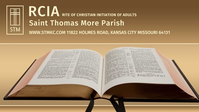RCIA Session 32: Life of Prayer