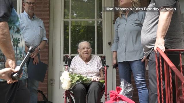 Lillian Beason's 105th Birthday Caravan