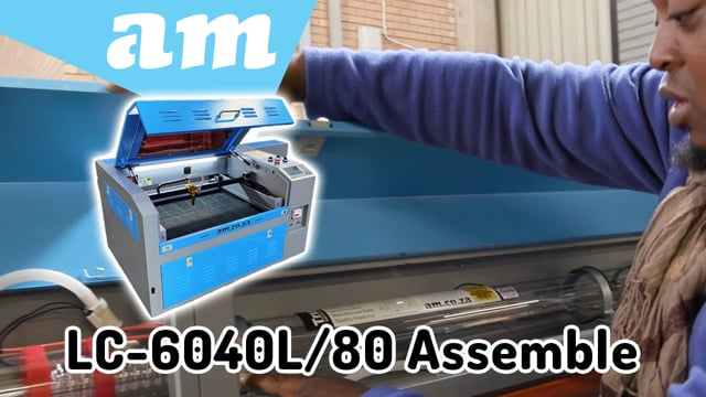 Basic Assemble Steps and Tips for TruCUT Desktop LC-6040L 80W Laser Cutting and Engraving Machine