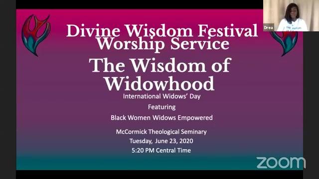 6-23-20 International Widow's Day